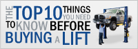 BendPak's Top 10 Car Lift Buyers Guide
