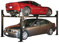Pro Park 8S (Standard) Four Post Lift