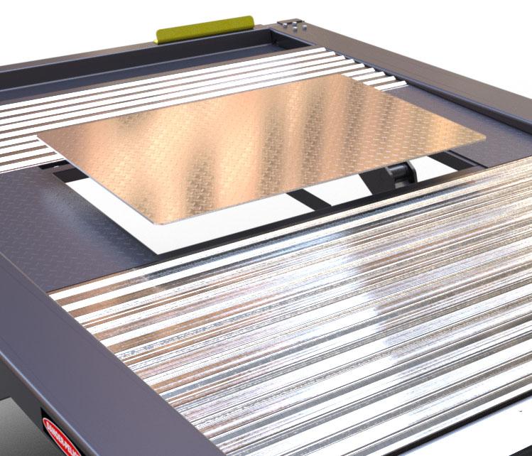 Removable Deck Panels for Convenient Vehicle Maintenance