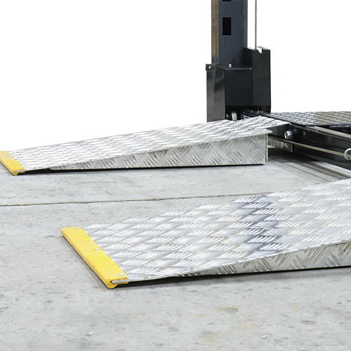 GrandPrix comes with aluminum approach ramp